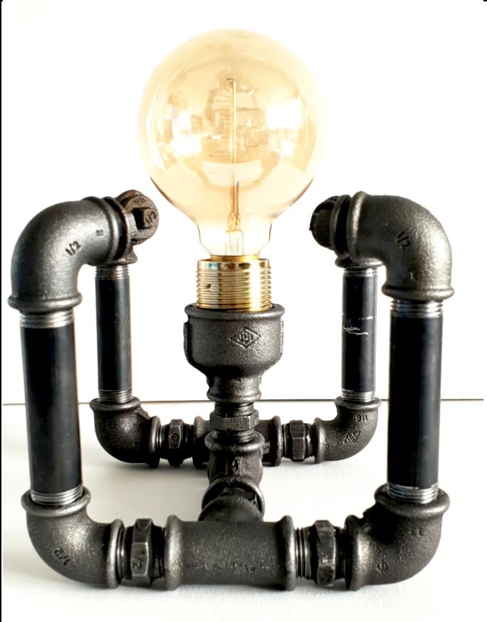 Boxo - Lampa de birou compacta steampunk